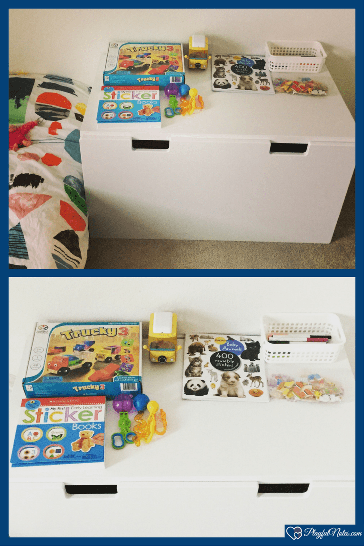 Toy rotation: A step by step guide on how to rotate toys | Toy rotation means that you will have the toys split into several boxes and the child will receive only one box at a time. In this way, you reduce the number of toys in your child's room and you help kids to focus more on the toys they have at hand.