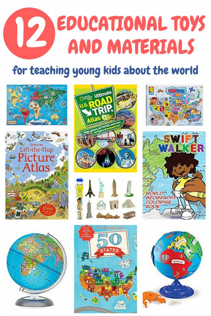 12 educational toys and materials for teaching young kids about the