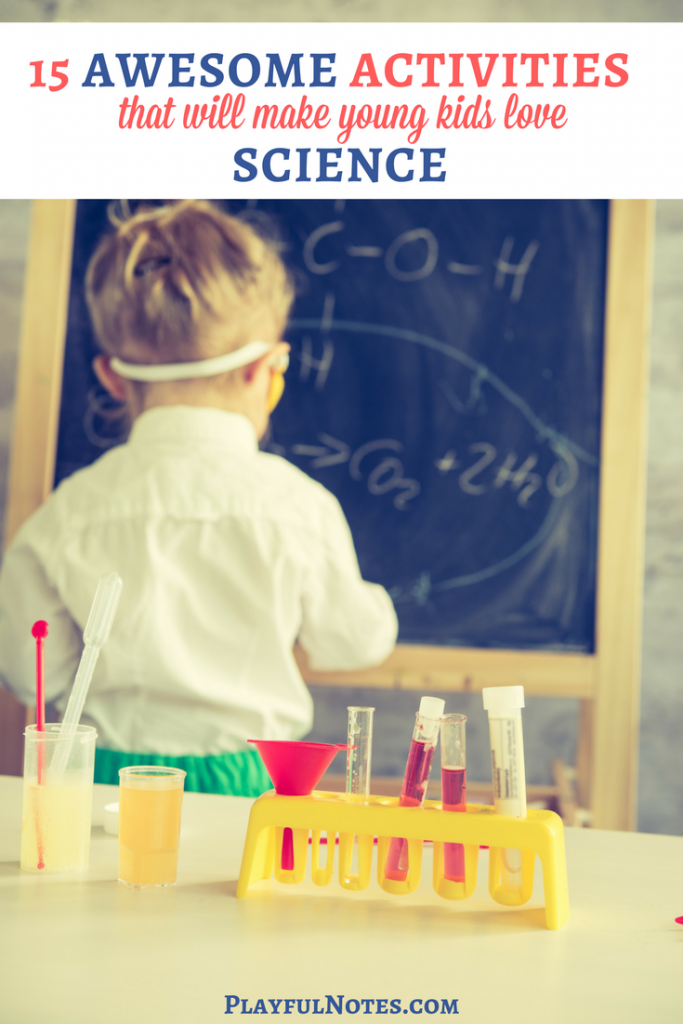 Science activities for kids: If you are looking for some awesome science activities for young kids, here is a list of a lot of ideas that children will love! | Science activities for preschool | Simple science activities for children | Easy activities about science | Science experiments for kids