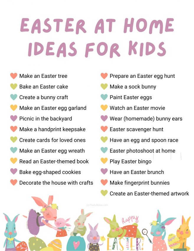 Discover 23 lovely Easter activities for kids that you can easily do at home to make the Easter celebration more fun for your family.