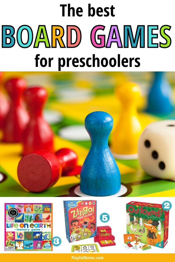 Check out this awesome list of the best board games for preschoolers! They are fun and engaging for the little ones and you will really enjoy them too!
