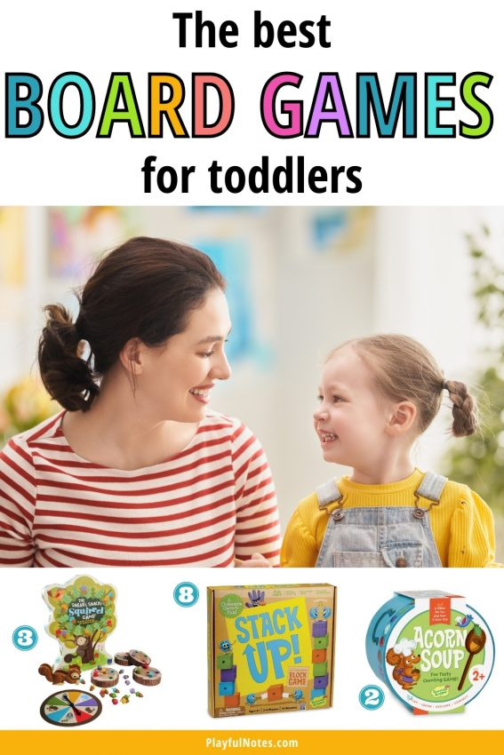 Check out this awesome list of easy and fun board games for toddlers! Your child will love these games and you'll enjoy them too!