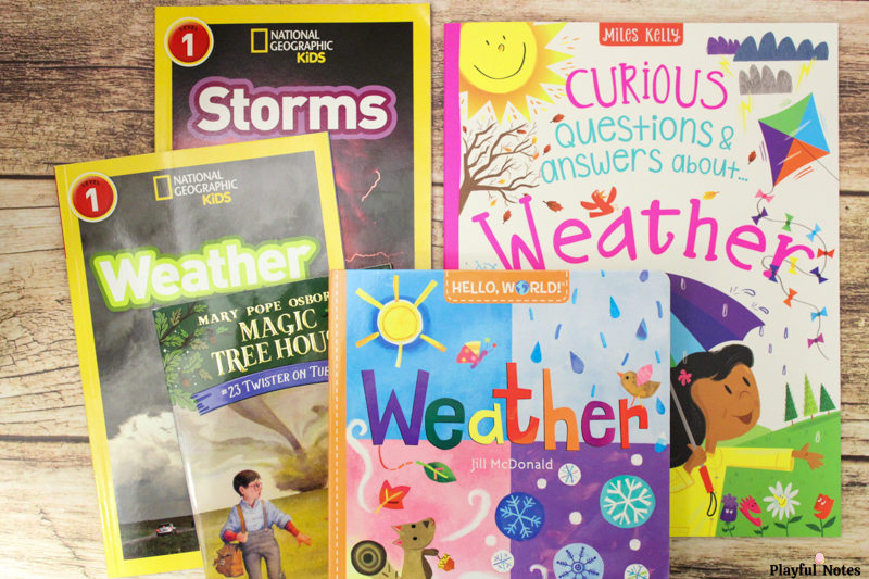 books about weather for kids weather theme