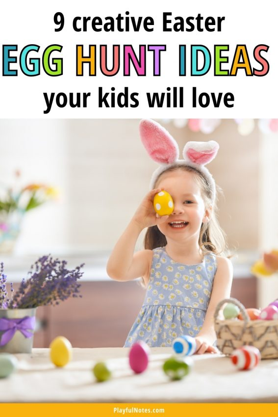 Discover 9 creative Easter egg hunt ideas that will bring a lot of fun to your kids!