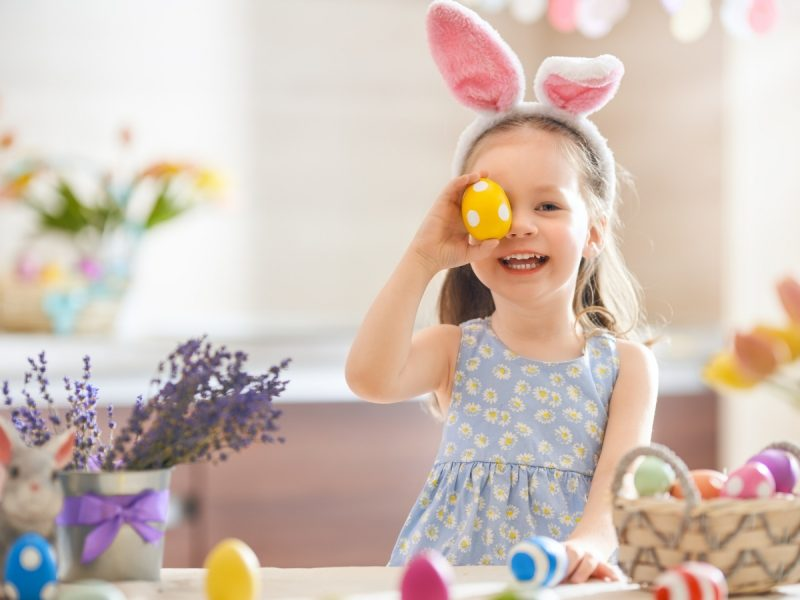 Easter egg activities for kids