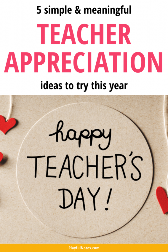 Teacher appreciation ideas: Discover simple and meaningful ideas to try during teacher appreciation week to show gratitude to your child's teachers.