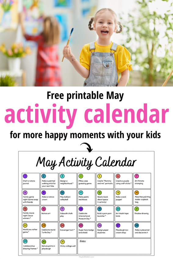 May activities for kids: Discover easy and fun ideas your kids will love!