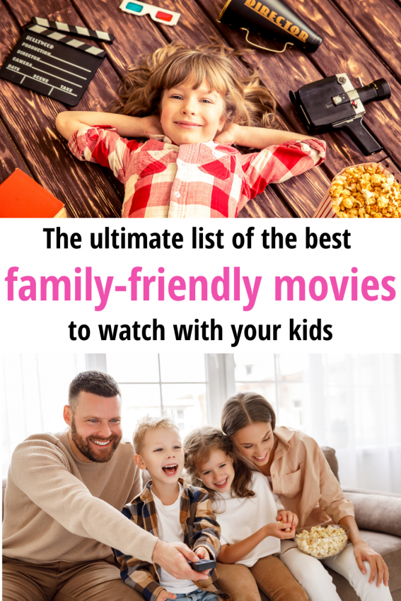 Discover 50+ awesome movies to watch with your kids before they grow up! The movie ideas are perfect for planning a fun family movie night that both kids and adults will enjoy!