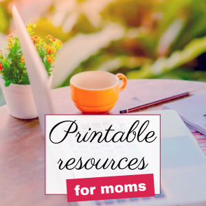 Free printable resources for parents