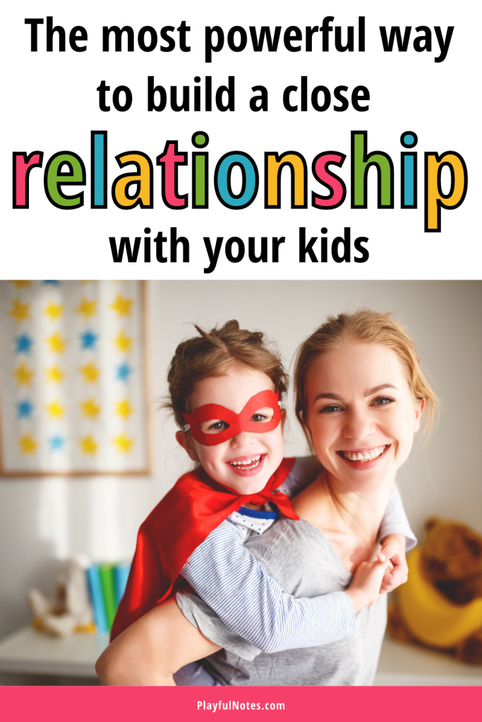 Connecting with kids is the most powerful way to build a strong parent-child relationship. Here is why connection is so powerful and how to build a close connection with your kids.