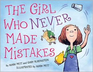 growth mindset books for kids girl who never made mistakes