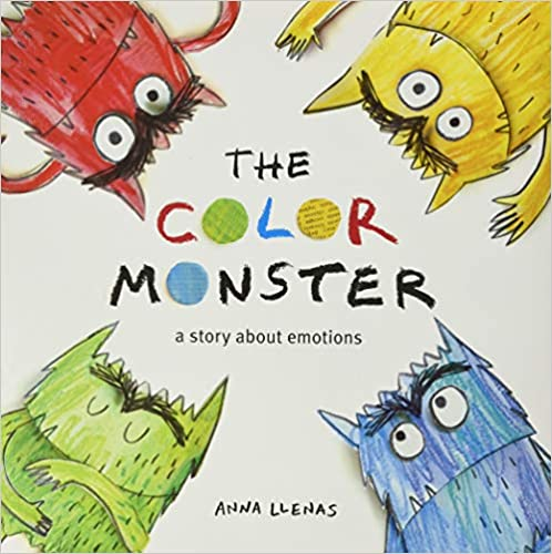 books about emotions for kids the color monster