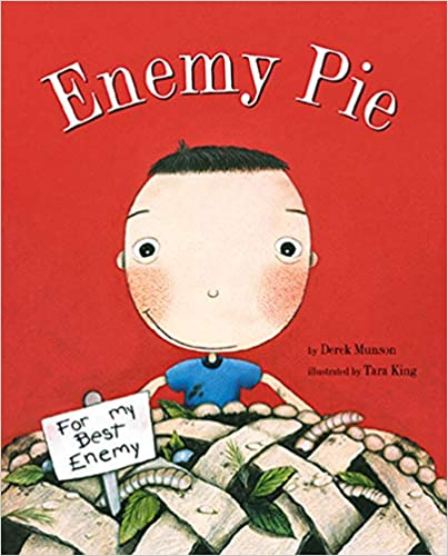 books about emotions for kids enemy pie