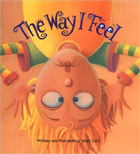 books about emotions for kids the way I feel