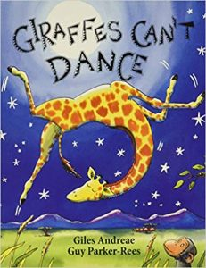 growth mindset books for kids giraffes can't dance