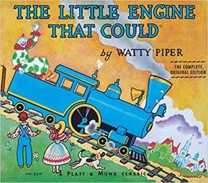 growth mindset books for kids the little engine