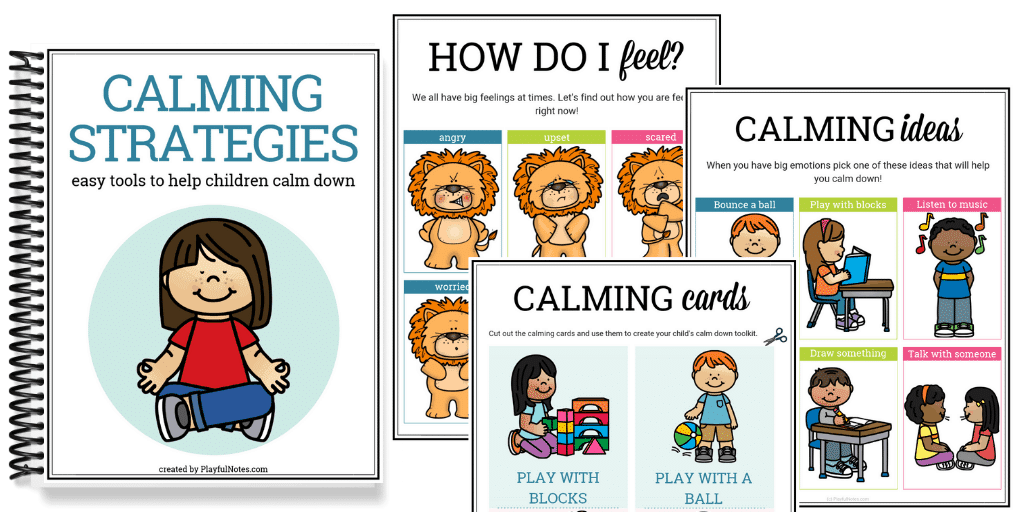 calming strategies - easy tools to help kids calm down