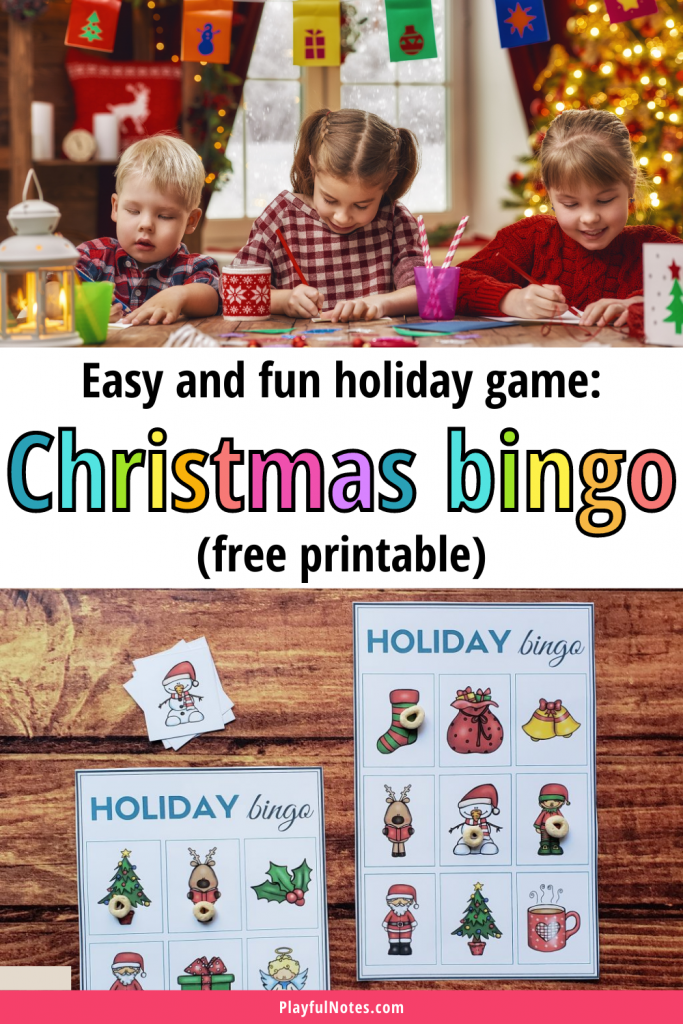Download an easy and fun Christmas bingo game your whole family will love!