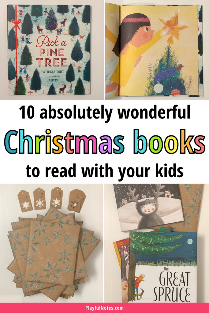 This awesome list of Christmas books for kids is perfect for the holiday season! You'll find here read aloud Christmas stories, heartwarming Christmas books for children, and funny Christmas stories the whole family will enjoy! - Christmas book countdown with the best Christmas books for kids