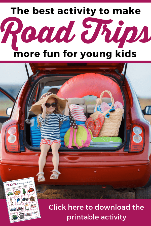 Discover one of the best activities to help you keep kids busy during road trips! Download the printable and make road trips more fun for your kids. --- Travel activities for kids | Printable road trip scavenger hunt | Travel scavenger hunt for toddlers and preschoolers | Family vacations #FamilyTravel #FamilyVacations #TravelingWithKids