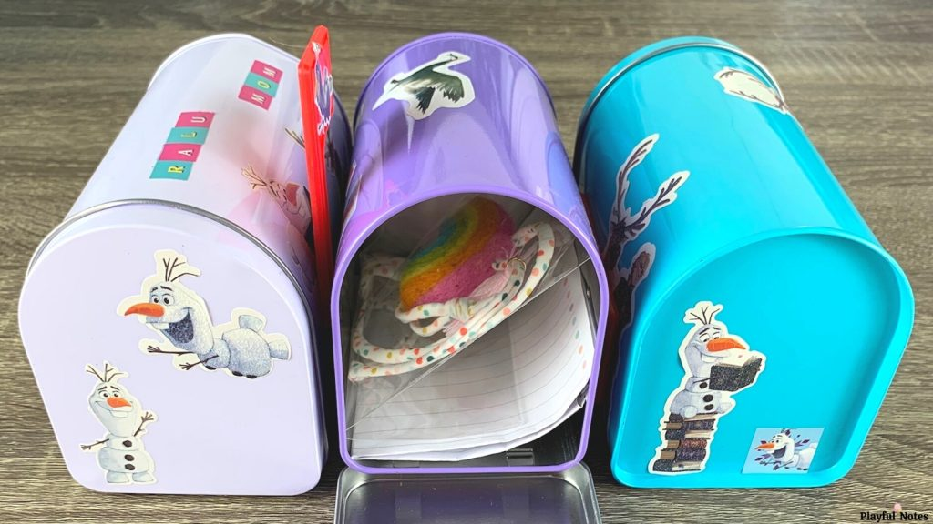 DIY family mailboxes