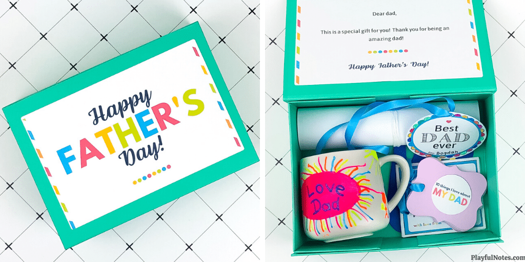 DIY Father's Day gifts from kids