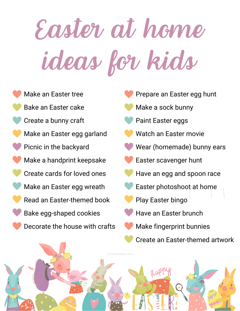 Discover 23 lovely Easter activities for kids that you can easily do at home! --- Easter ideas for kids