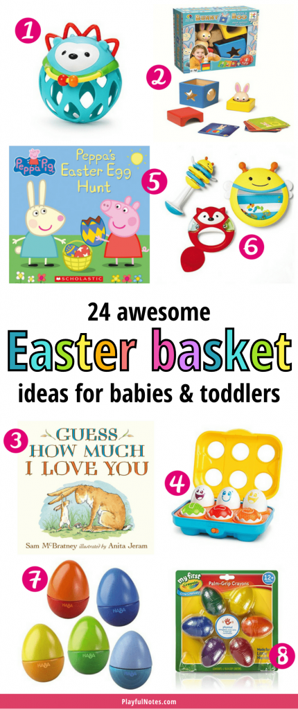 If you are looking for some Easter basket ideas for babies and toddlers, check out these 24 Easter gift ideas your little ones will love!