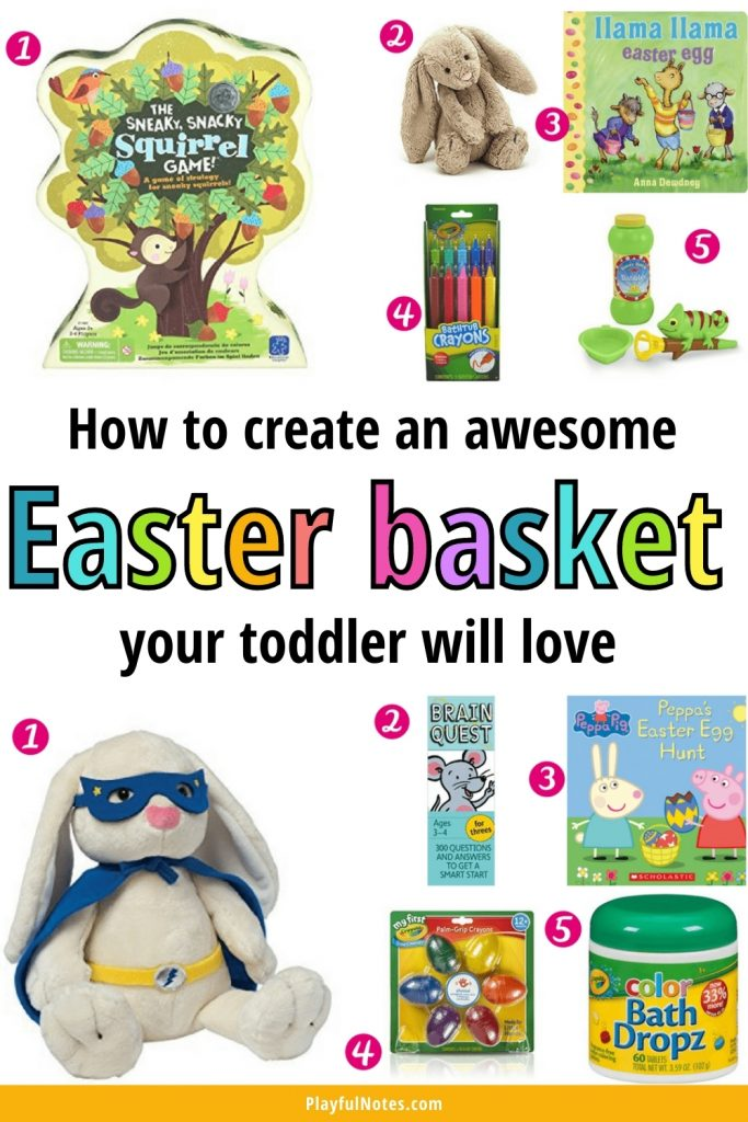 Discover a simple way to create awesome Easter baskets for toddlers and bring joy to your little ones this Easter!