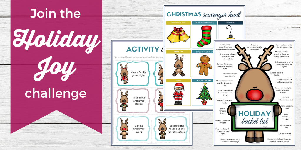 Holiday Joy Challenge