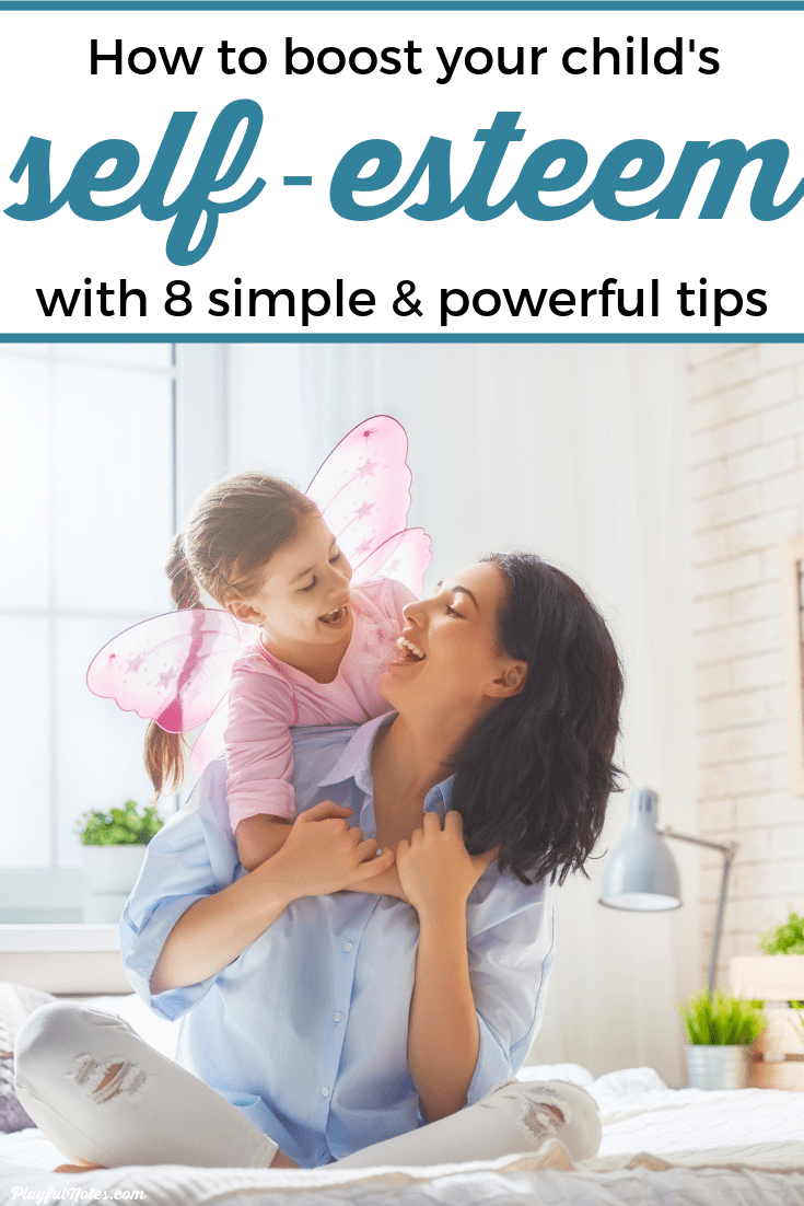 These 8 simple and powerful tips will help you boost your child's self-esteem and help them become more independent and confident. --- Parenting tips | Self-esteem for kids | Gentle parenting | Advice for moms #AdviceForMoms #Parenting