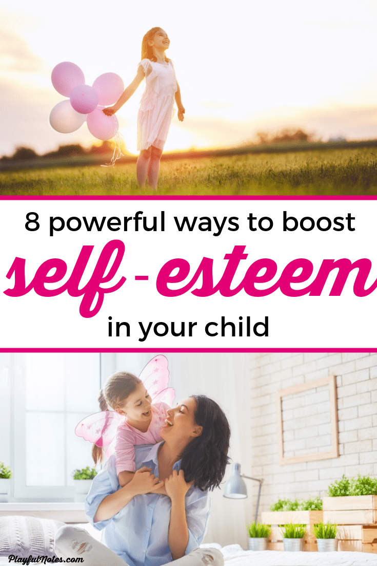 Discover 8 simple and powerful tips that will help you build self-esteem in kids and encourage them to become independent and confident. --- Self-esteem for kids | Self-esteem tips for boys | Positive parenting tips | Raising kids #Parenting #AdviceForMoms