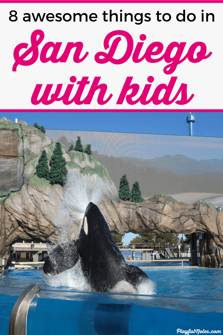 Check out a list of 8 awesome things to do in San Diego with kids! These ideas will help you plan an amazing vacation that both you and your kids will love! --- Top things to do in San Diego | Bucket list | Family vacation destinations #FamilyTravel