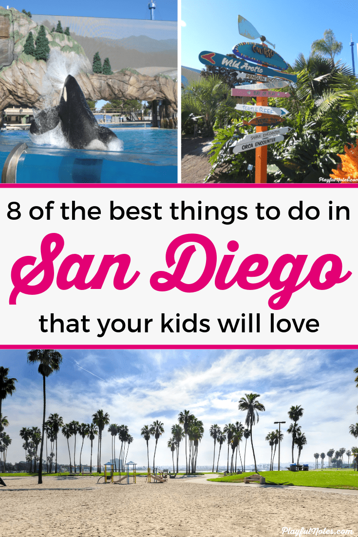 Discover 8 of the best things to do in San Diego with kids! Your children will love these ideas and you'll really enjoy them too! --- Top things to do in San Diego | San Diego bucket list | Attractions for family vacations #FamilyVacations #FamilyTravel