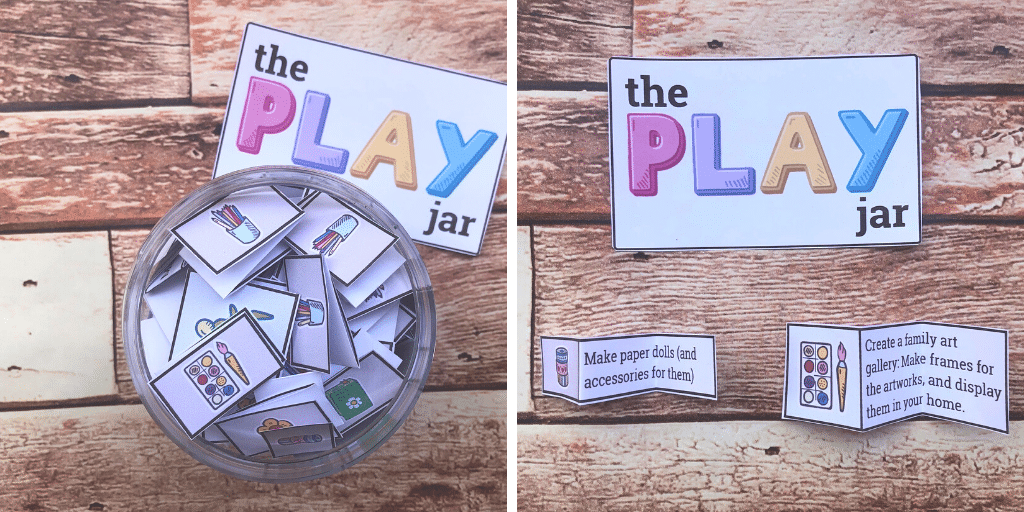 The Play Jar Easy And Fun Activity Ideas Your Kids Will Love Playful Notes