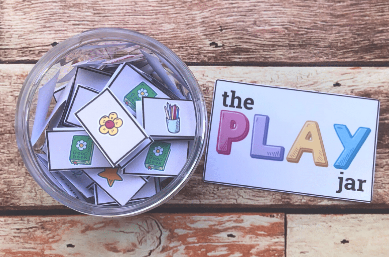 Play Jar - fun things to do when bored for kids