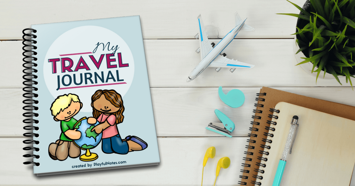 My Travel Journal - Playful Notes