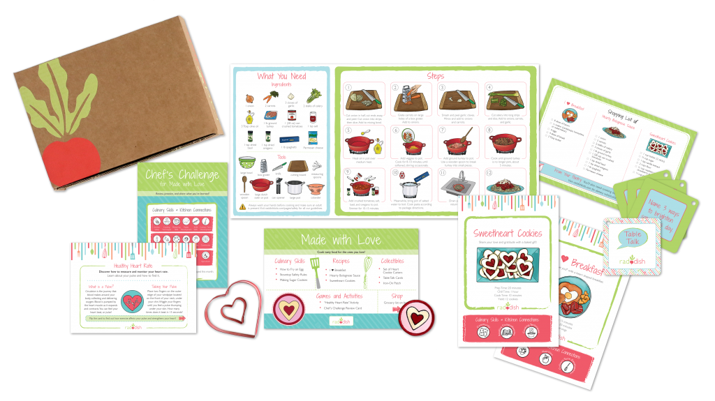 raddish kids educational subscription boxes for kids