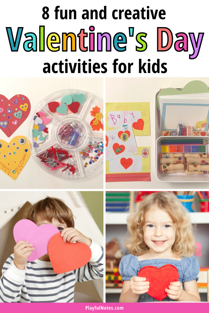 Discover 8 fun and creative Valentine's Day activities for kids that your little ones will love!