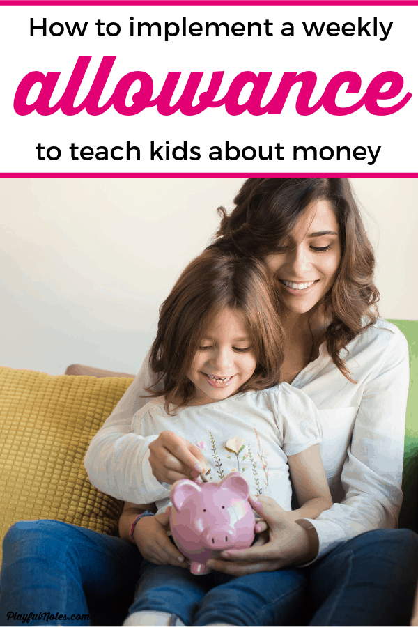 If you are thinking about starting an allowance for kids, here are the best tips that helped us create a system that works! --- How to teach kids about money and create an allowance system for kids | Parenting tips #Parenting
