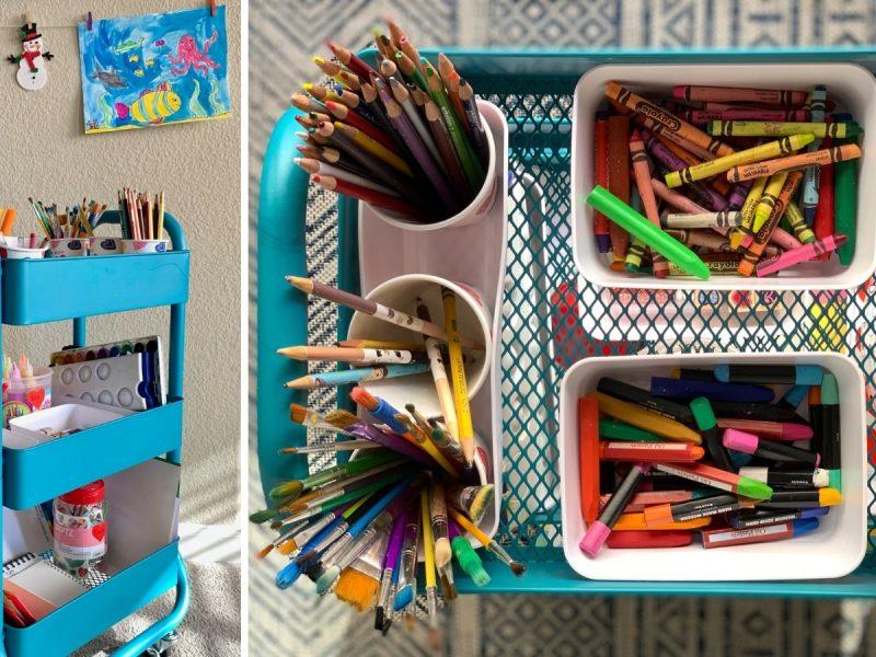 art cart for kids