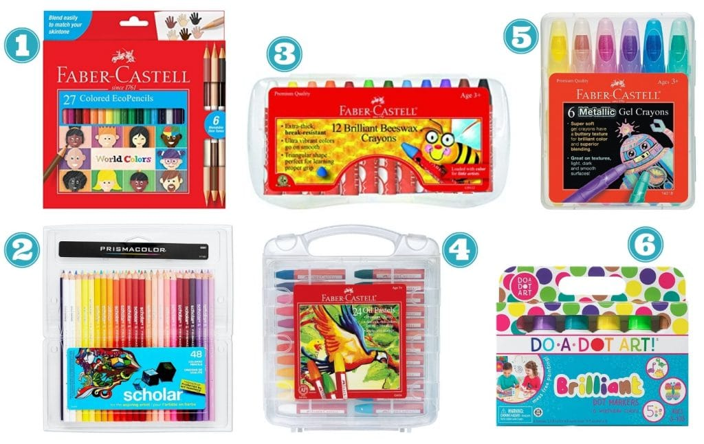 art supplies for kids drawing