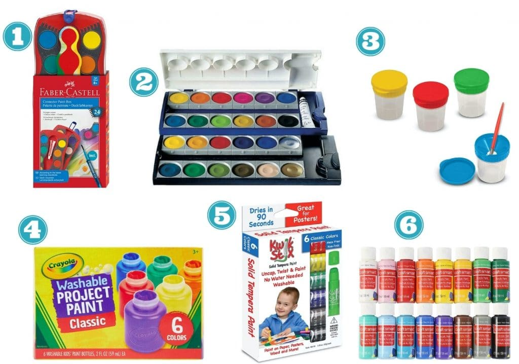 art supplies for kids painting