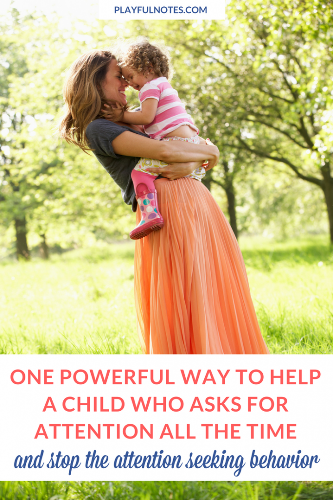 Attention seeking behavior can be very frustrating and difficult to handle! Here is one powerful way to help kids who ask for attention all the time and stop this behavior in a gentle way. | Positive parenting tips | Gentle parenting