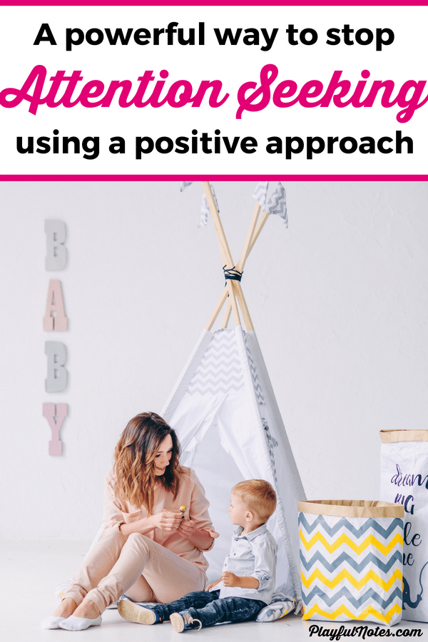 One easy and powerful tip that will put an end to the attention seeking behavior in a gentle and positive way! Attention seeking behavior can be very frustrating and difficult to handle! Here is one powerful way to help kids who ask for attention all the time and stop this behavior in a gentle way. | Positive parenting tips | Gentle parenting #PositiveDiscipline #PositiveParenting #ParentingTips