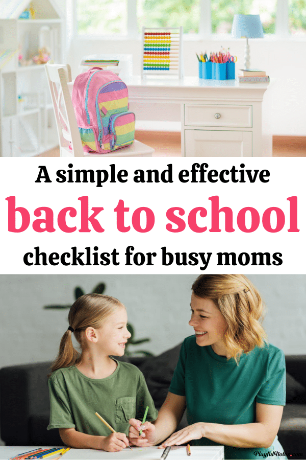 Help your kids have a great school year and keep everything organized with this simple and effective back to school checklist for moms!  - Parenting tips