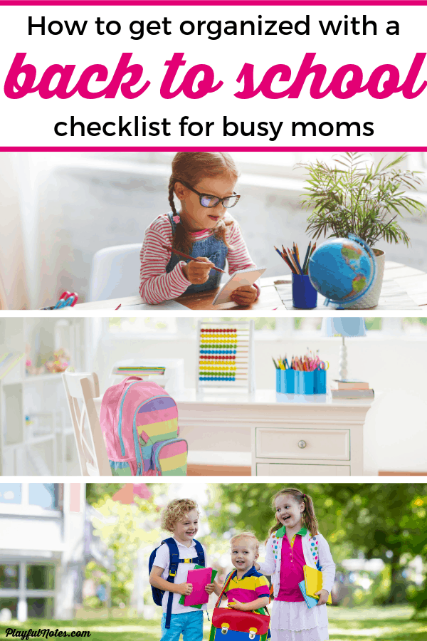 Help your kids have a great school year and keep everything organized with this simple and effective back to school checklist for moms! The tips will help you create routines, plan school lunches, buy supplies, and much more. Plus download a free printable back to school checklist for parents to keep track of all the tasks. --- Parenting tips #Parenting