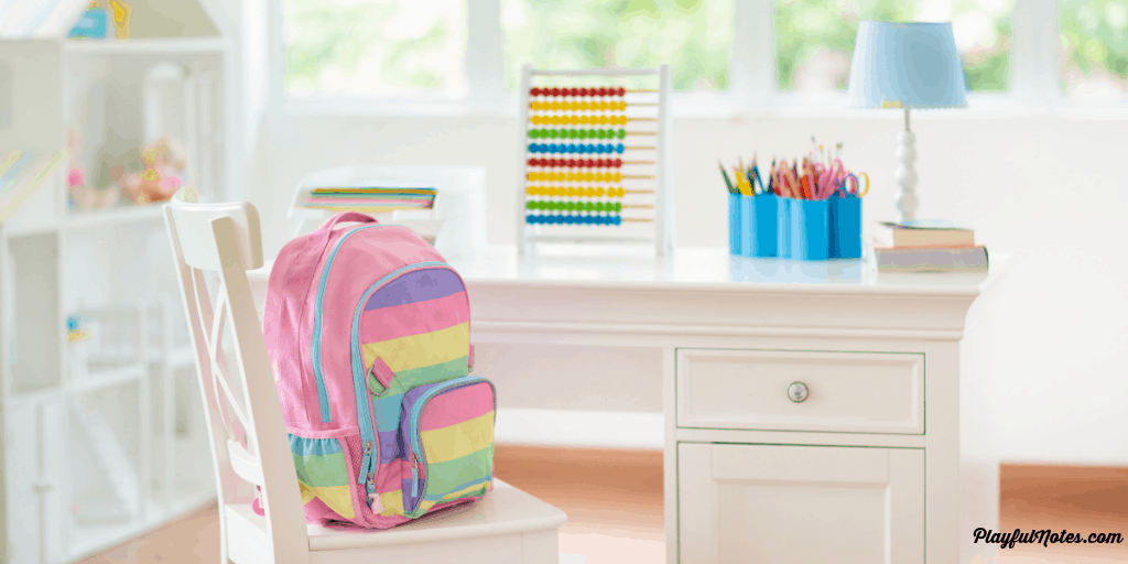 back to school scavenger hunt - school supply