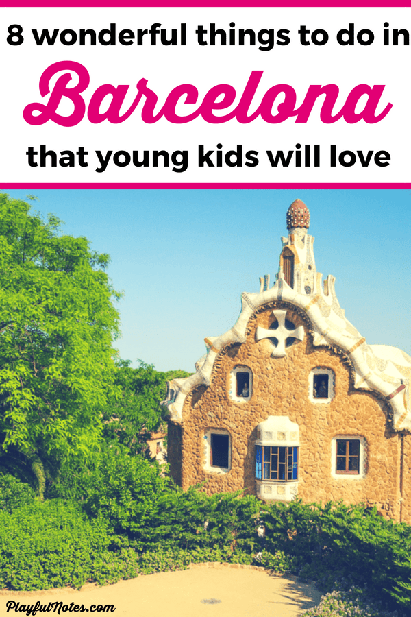 Discover a list of 8 awesome things to do in Barcelona with kids! These ideas are great for toddlers, preschoolers, and older children as well! --- Barcelona with kids | Family travel in Barcelona | Traveling with kids in Barcelona | Spain with kids | Family travel destination #FamilyTravel #BarcelonaWithKids
