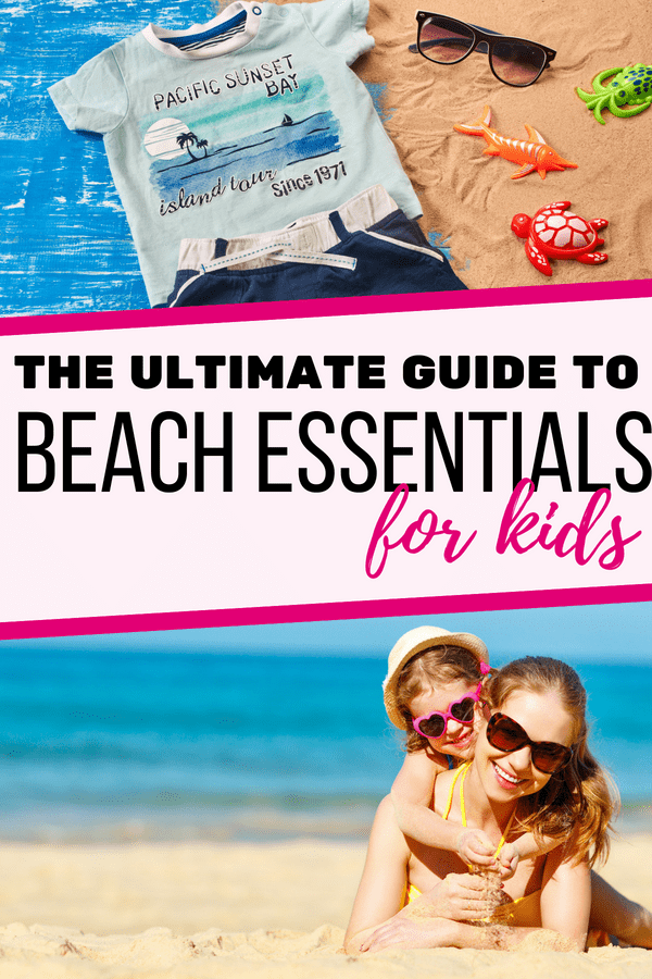 Check out these beach essentials for kids and prepare for an awesome summer vacation! If you are preparing for a family holiday at the beach, check out this guide of beach essentials for young kids! --- Beach essentials for toddlers | Beach essentials for preschoolers | Beach essentials for babies | Packing list | Printable family packing list | Beach items for kids | Beach essentials for kids | Beach packing list #FamilyTravel #FamilyVacation